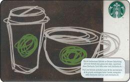 Schweiz  Starbucks Mug And Cup 2016 - Gift Cards