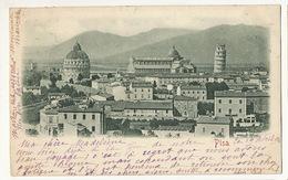 Pisa Edit.  Stengel Dresda 11329 Very Nice Stamps , 5 Stamps Used 1900 - Pisa