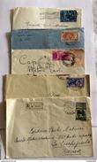 Lotto 35  Oggetti -- 13 Buste  Affrancate - 6 Biglietti  Postali - 10 Cartoline Postali - 6 Cartoline Cassa E Depositi - Lotti E Collezioni