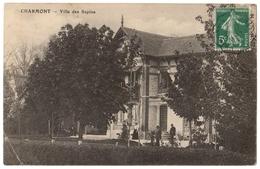 10 - CHARMONT - La Villa Des Sapins - Cpa Aube - Sonstige Gemeinden