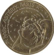 60 PLAILLY PARC ASTERIX IDEFIX MÉDAILLE MONNAIE DE PARIS 2017 JETON TOKEN MEDAL COIN - Monnaie De Paris