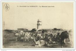 GIBUTI DJIBOUTI LE MARCHE' DES BOIS NON VIAGGIATA FP - Djibouti