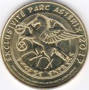 60 PLAILLY PARC ASTERIX PEGASE CHEVAL MÉDAILLE MONNAIE DE PARIS 2017 JETON TOKEN MEDAL COIN - Monnaie De Paris