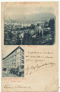 Firenze Panorama . Hotel Stella D' Italia E S. Marco . F. Zannetti Prop. P. Used 1901 - Firenze (Florence)