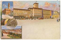 Firenze Litho Color Hotel Porta Rossa Ernesto Checchi Edit Richter Napoli Casparis Dirett. - Firenze (Florence)