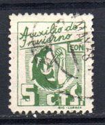 Viñeta Nº 13 Auxilio De Invierno  Leon. - Verschlussmarken Bürgerkrieg