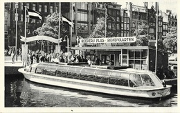 Danemark - Reederij Plas, Amsterdam: Rondvaart Door Grachten En Havens - Carte Muva Non Circulée - Danemark
