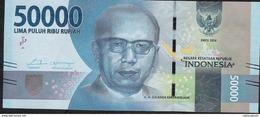 INDONESIA P159a 50.000 RUPIAH 2016 MICROPRINTED  2016 UNC. - Indonésie
