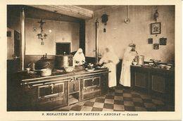 07 ANNONAY  Monastère Du Bon Pasteur  Cuisine  CPA N° 9 - Annonay