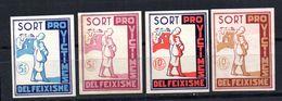 Viñetas Nº 1/4  Pro Victimes Feixisme Sort. - Viñetas De La Guerra Civil