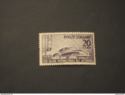 ITALIA REUBBLICA - 1950 AUTO - NUOVO(++) - 1946-60: Mint/hinged