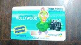 Israel-block Buster-bezeq International-(8)-25.9.2003-used - Projecteurs De Films