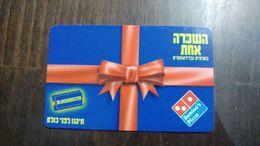 Israel-block Buster-domino's Pizza -(13)-31.12.2003-used - Projecteurs De Films