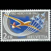 SWITZERLAND 1963 - Scott# C46 Glider Set Of 1 MNH - Switzerland