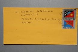 Papua Newguinea, Luftpostbrief Von BOROKO (BK-93-1) Nach BRITAIN - Papouasie-Nouvelle-Guinée