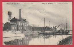 Balen ( Werkplaatsen ) - Het Zinkfabriek - 1908 ( Verso Zien ) - Balen