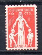 Viñeta  Nº 5   Asistencia Social Gandia. - Viñetas De La Guerra Civil