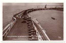 33 - Gironde / PORT Autonome De BORDEAUX - Avant Port Du VERDON. L'Esplanade Amont Et La Jetée De Raccordement. - Autres Communes