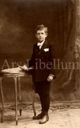 Photo Ancien / Boy / Garçon / Communie / Vormsel / Confirmation / Foto - Personnes Anonymes