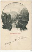Charleroi Le Piéton  Timbrée 1900 Vers Hesdin - Charleroi