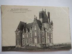 CPA - (85) - CHANTONNAY - CHATEAU DE LA MOUHEE - OU MARQUIS DE LESPINAY - C1905 -  R4292 - Chantonnay