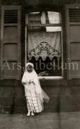 Photo Ancien / Girl / Fille / Communie / Vormsel / Confirmation / Foto / Mei 1945 - Personnes Anonymes