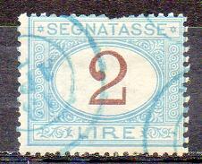 ITALIE (Royaume) - 1870-1903 - TAXE - N° 14 - 2 L. Bleu Et Brun - 1900-44 Vittorio Emanuele III