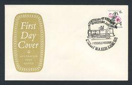 Australia 1971 Cover / Brief - Cent. Railways In Western Australia / Eisenbahn - Treinen