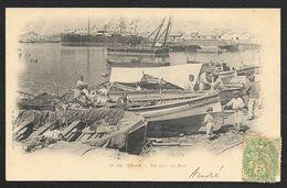 ORAN Un Coin Du Port (Collection Idéale) Algérie - Oran