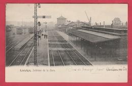 Landen - Intérieur De La Gare - 1904 ( Verso Zien ) - Landen