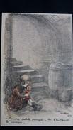 CPA ILLUSTRATEUR POULBOT 1915 PAUVRE PETITE POUPEE    GUERRE 14 18 DESSIN  ENFANTS PETITS FRANCAIS N° 56  ANNES 30 ? - Poulbot, F.