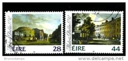 IRELAND/EIRE - 1992  MALTON'S VIEWS OF DUBLIN   SET FINE USED - 1949-... Repubblica D'Irlanda