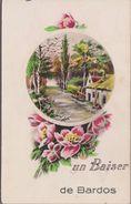 """64-BARDOS-Carte Fantaisie """"Un Baiser De...""""  1948 - France"""
