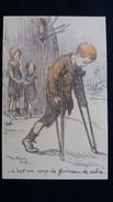 CPA ILLUSTRATEUR POULBOT 1915 C EST UN COUP DE FOURREAU   GUERRE 14 18 DESSIN  ENFANTS PETITS FRANCAIS N° 66  ANNES 30 ? - Poulbot, F.