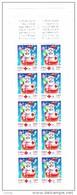 Bande Non Pliée Carnet Croix Rouge Lot Sous Faciale N°2050 De 2001 Avec 10 Timbre 3122a Prix Poste 5.50€ - Carnets