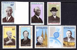Adenauer 7v ** Mnh (36594C) - Postzegels