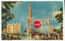 CARTOLINA NEW YORK WORLD'S FAIR COCA COLA PAVILION ANNO 1964 1965 - Polizia – Gendarmeria