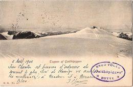 NOR 1 - CPA NORVEGE Toppen Af Galdhöpiggen Expédiée De Nordbenernes 1905 - Norway