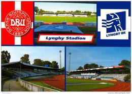 2) AK Lyngby BK Stadion Postkarte Taarbæk Tårbæk Dänemark Denmark Danmark Boldklubben 1921 Stadium Postcard - Fussball