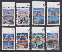 AC - TURKEY STAMP - DEFINITIVE POSTAGE STAMPS WITH THE THEME TOURISM MNH 30 APRIL 2012 - 1921-... Republic