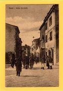 AP437   NUORO- CORSO GARIBALDI   - FP NV EPOCA 1920/25 - BELLA!! ANIMATA - Nuoro