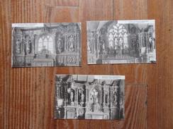 Lot De 3 Cartes  De Plomodiern ( Finistère )    Chapelle Ste Marie Du Ménez-Hom - Plomodiern