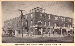 Canada, Granby, Appartements Fortin, St Charles Et Principale   (bon Etat) - Granby