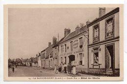 - FRANCE (28) - CPA Vierge LA BAZOCHE-GOUET - Grande Rue - Hôtel De L'Etoile (avec Personnages) - Edition Bardet N° 14 - - Autres Communes