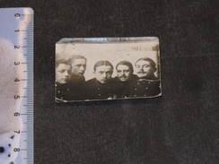 Photo De 5 Lanciers - Photogrape De La Rue Cathédrale à Liège - Début XXe - Mention Manuscrite Au Dos - Militaria