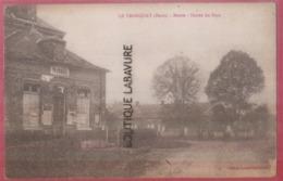 27 - LE TRONQUAY--Mairie Entrée Du Pays--pas Courante - Francia