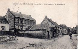 Ablain-Saint-Nazaire, Ecole De Filles Et Grande Rue - France