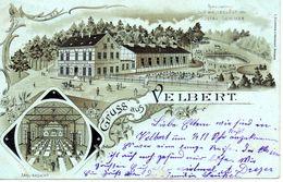 Deutschland Velbert Gruss Aus, Restaurant Gustav Sommer - Velbert