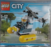 Lego 30311 Ville Hélicoptère Police Neuf ** Dans L'emballage - Lego System