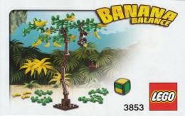 Lego 3853 Jeu De Société Banana Balance Avec Plan Et Boîte 100 % Complet - Lego System